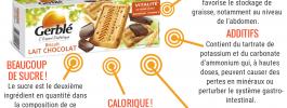 {Aliments à la loupe} Les gâteaux»diététiques Gerblé